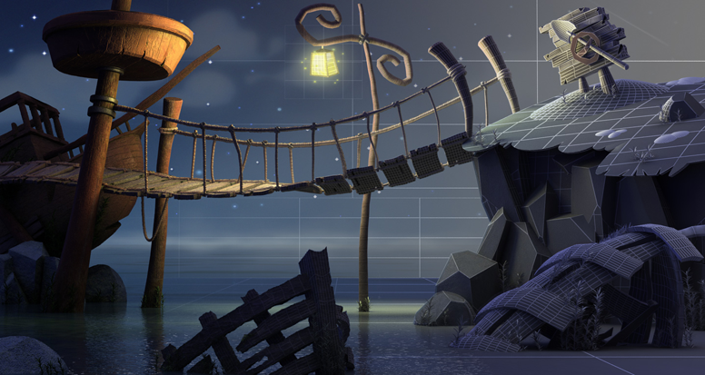 Tutorial for creating a monkey island like scene in 3ds - 3ds max vray exterior lighting tutorials pdf ...